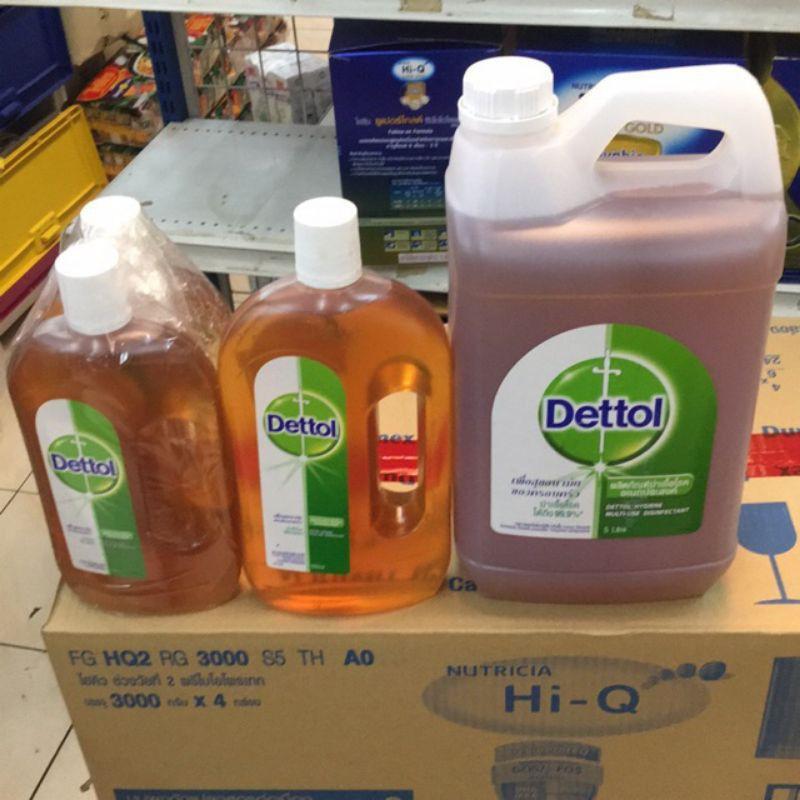 น้ํายาฆ่าเชื้อ dettol dettol เจลล้างมือ เดทตอล Dettolน้ำยาฆ่าเชื้อและแบคทีเรีย 99.99% ทุกขนาด