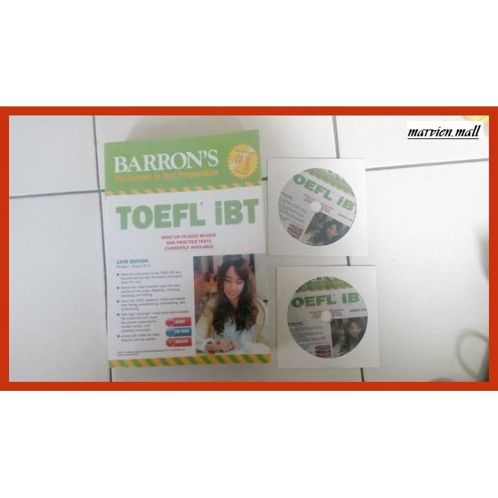หนังสือ Exam Books 4 Barron 's Books สําหรับ The Toefl Ibt พร้อม Cds - Go-Exam.