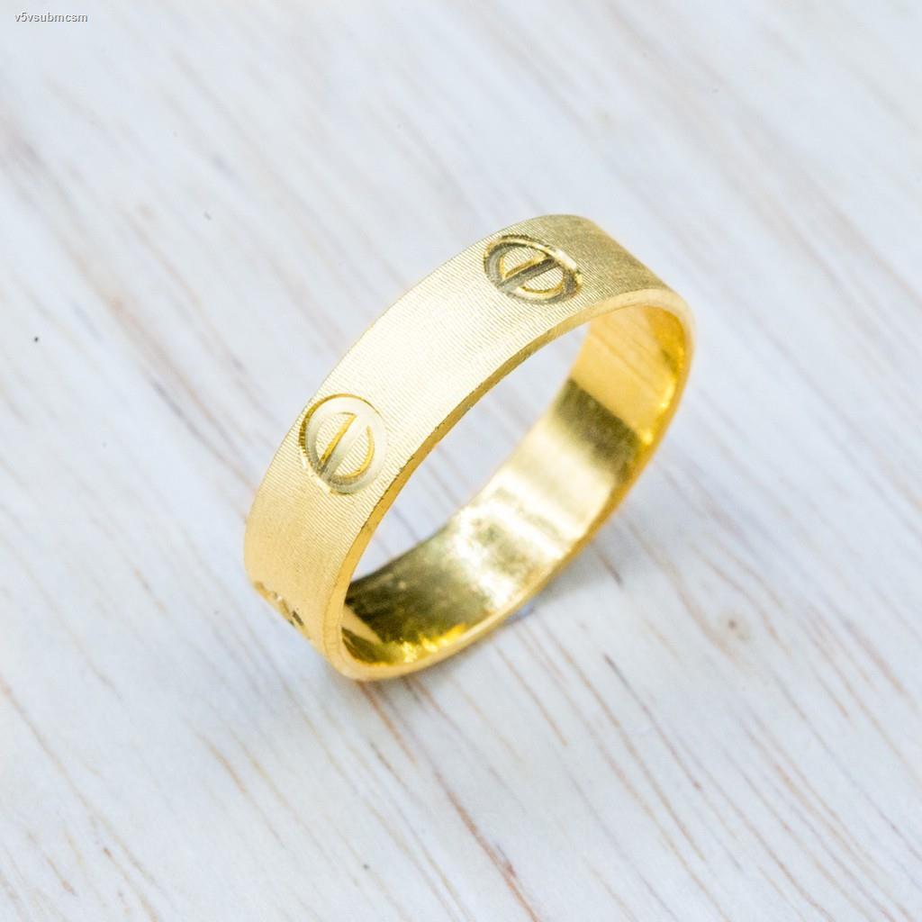 ราคาต่ำสุด✜[NEW ITEM] แหวนทองแท้ luxury rings [น้ำหนัก1สลึง]