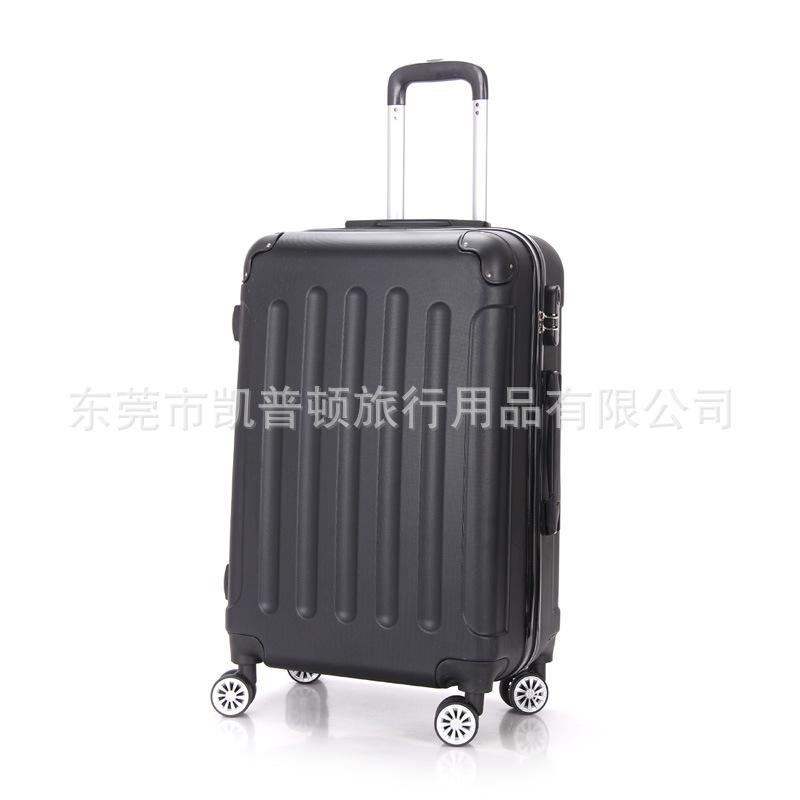 ของขวัญรถเข็นที่กำหนดเอง20/24นิ้วกระเป๋าเดินทางล้อสากลซิปกระเป๋าเดินทางABSกินนอนกระเป๋า