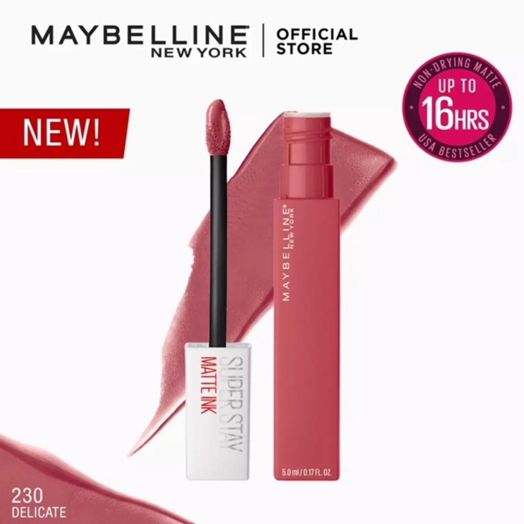 maybelline super stay matte ink 225 del