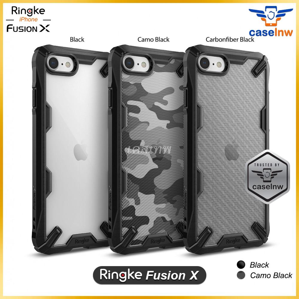 [Apple] เคส Rearth Ringke Fusion X iPhone SE 2020 / XS Max / XS / X / XR / 8/7