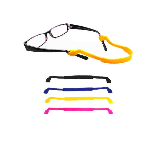 สายคล้องขาแว่นตา แบบซิลิโคน กันลื่น สำหรับเล่นกีฬา