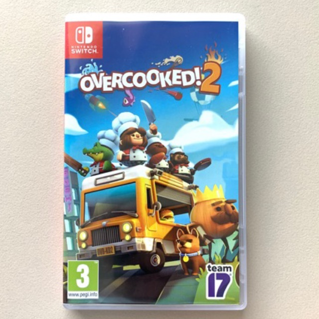 Nintendo Switch: Overcooked!2 มือสอง