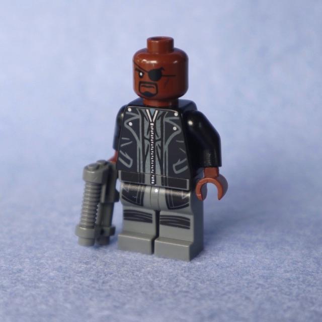 Lego Nick Fury Marvel Mini Figures (ใหม่)