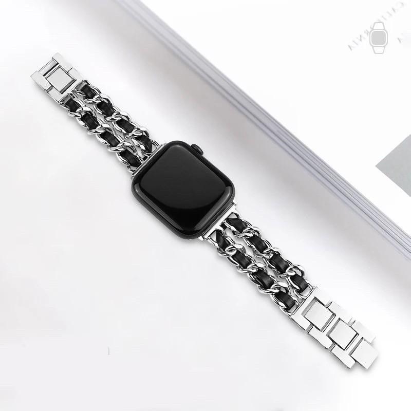 สายนาฬิกาข้อมือสแตนเลสสําหรับ applewatch 6 SE 5 4 3 2 1 band 38 /40มม. 42 /44มม. สําหรับ iwatch series 5 4/1