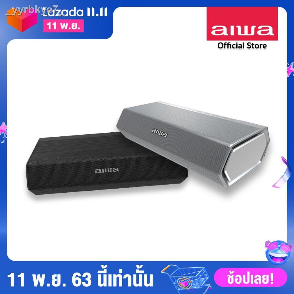 ฟิตเนส🤳การเคลื่อนไหว👌┇◄▲AIWA SB-X150 Bluetooth Speaker ลำโพงบลูทูธพกพา SUPER BASS