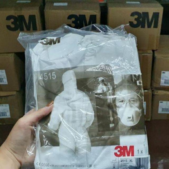 [[ พร้อมส่ง]] ของแท้ ล้าน%🔥🔥🔥ชุด PPE 3M 4515 type5/6 ขายปลีกในราคาส่ง🔥🔥🔥
