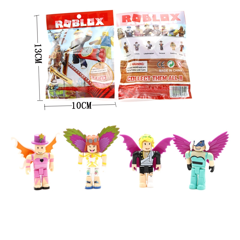Roblox Spider Man Homecoming Shirt - Mini Roblox Game Action Figure Figma Oyuncak Champion Robot Mermaid Playset Toy No Box Opp Package