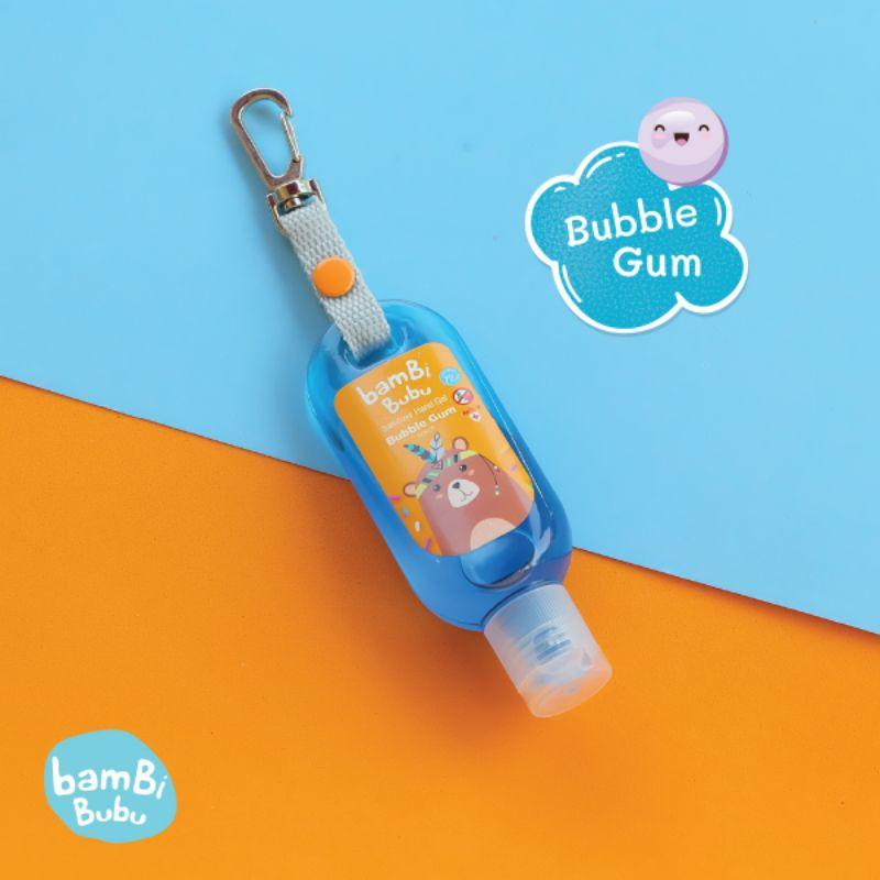 (เซ็ต 3 สี) Bambi Bubu Official แบบห้อยกระเป๋า เจลล้างมือแบบพกพา เจลแอลกอฮอล์ล้างมือ เจลล้างมือ ขนาด 30ml 6n8z