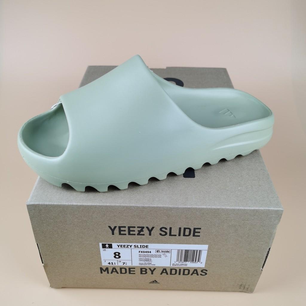 """พร้อมสต็อก Adidas Yeezy Slide """"Resin"""" Slide รองเท้าแตะรองเท้าแตะ"""