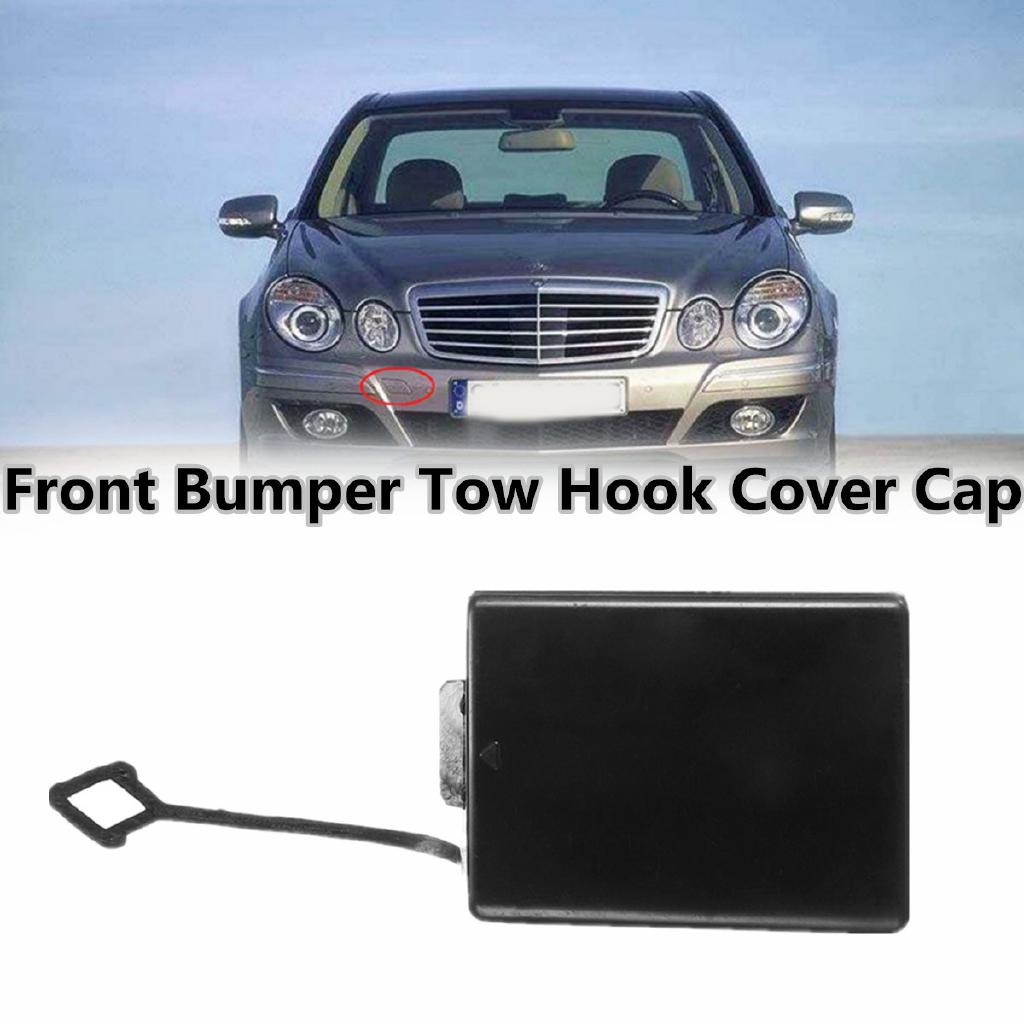 1 Piece Front Bumper Tow Hook Cover Cap for Mercedes-Benz W211 E-class 2002-2006