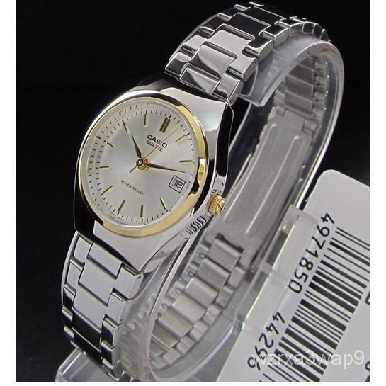 Casio Standard รุ่น LTP-1170G-7A นาฬิกาข้อมือผู้หญิง สีเงิน สายสแตนเลส - มั่นใจ ของแท้ 100% รับประกันสินค้า 1 ปี