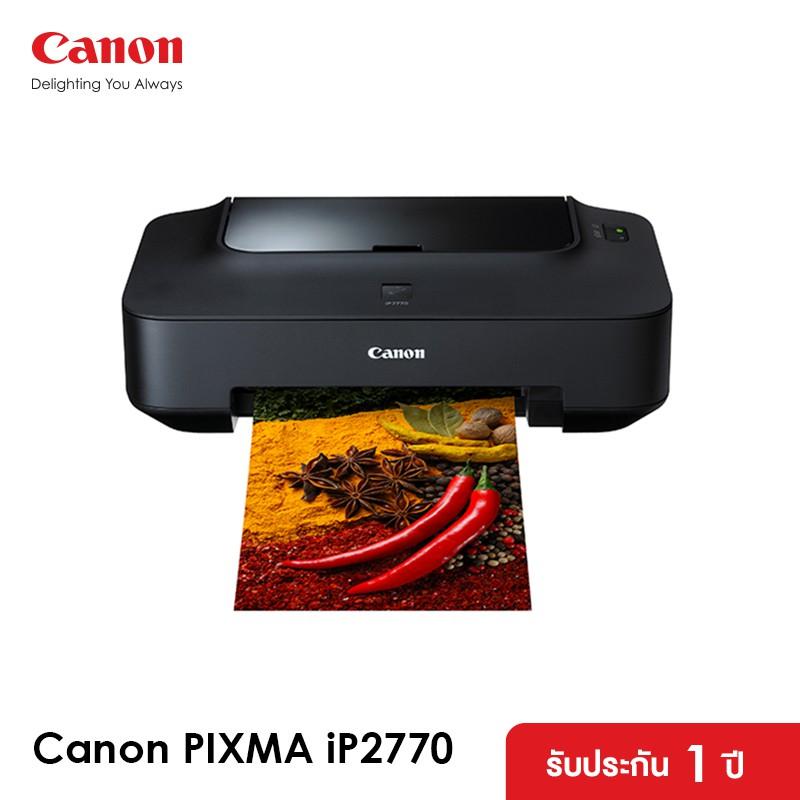 Canon เครื่องพิมพ์อิงค์เจ็ท PIXMA รุ่น iP2770 (เครื่องปริ้น ปริ้นเตอร์ พิมพ์ )