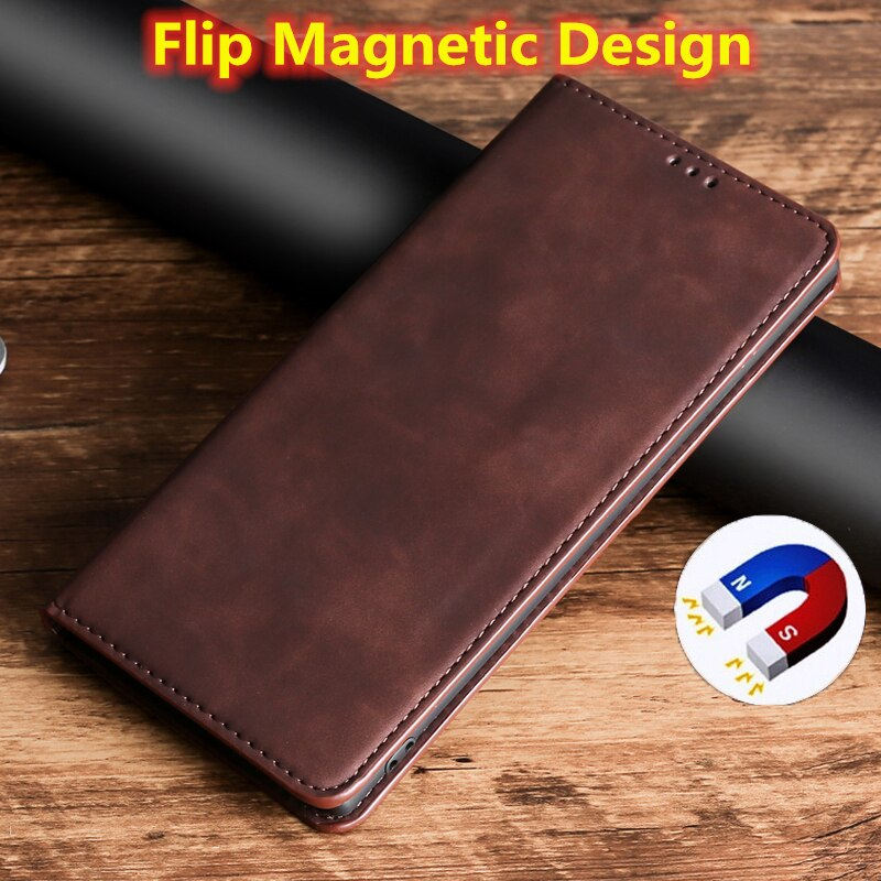 Leather Flip Case for Samsung Galaxy S20 Ultra S10e S10 S9 S8 Plus S7 S6 Edge S5 S4 S3 Note 10 Pro 9 8 4 3 A10E A20E