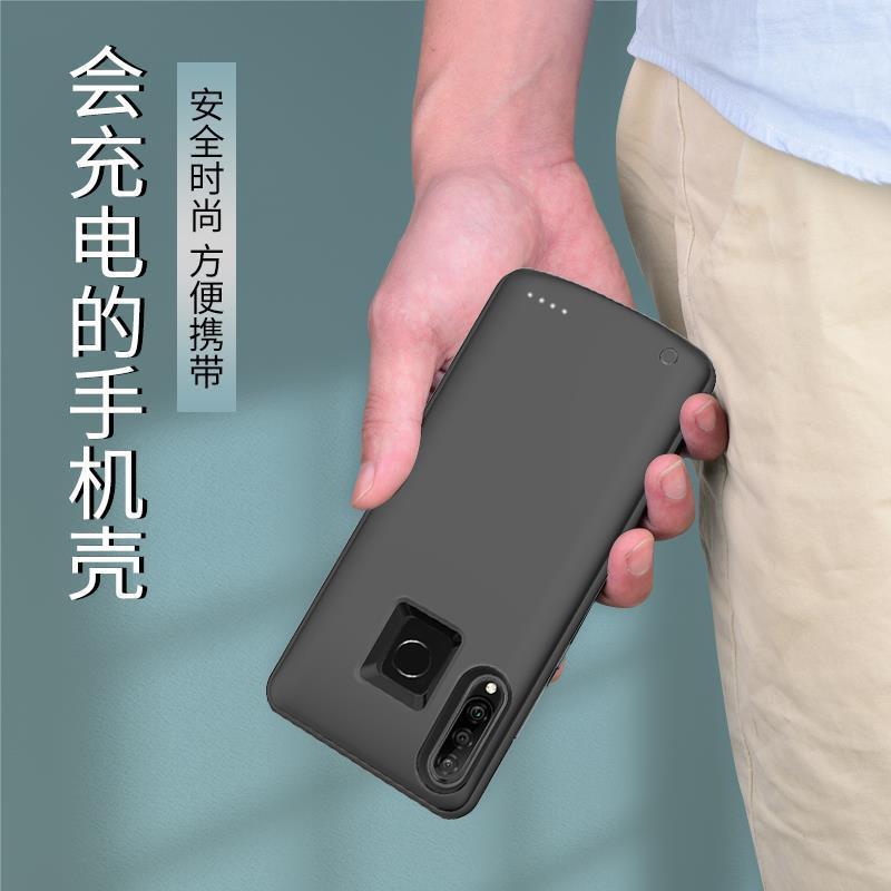✢☃Ultra-thin Huawei nova3/3i/3e แบตเตอรีแบบหนีบด้านหลัง nova4/4e ไร้สายเคสโทรศัพท์มือถือพาวเวอร์ซัพพลายธนาคารพลังงานสากล
