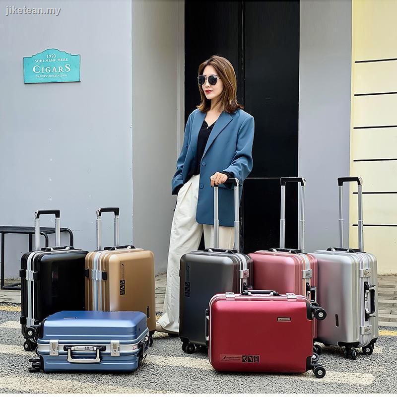 กระเป๋าเดินทางกระเป๋าเดินทางกระเป๋าเดินทางอลูมิเนียมจิงโจ้ 24 ล้อแบบใส่รหัสผ่าน