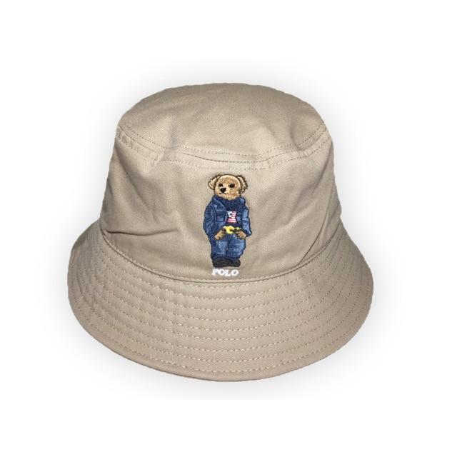 หมวกโปโล Polo Ralph Lauren Teddy Bear bucket ของแท้100% หมวกวินเทจ