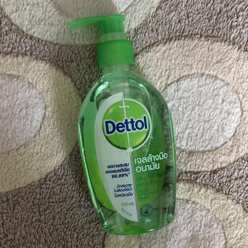 **ส่งฟรี** เจลล้างมืออนามัย Dettol