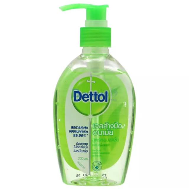เจลล้างมือเดทตอล ( Dettol )ขนาด  200ml