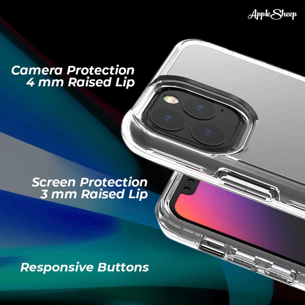 เคสใสสองชั้นสำหรับ iPhone ทุกรุ่น [Case iPhone] จาก AppleSheep พร้อมส่งทั่วไทย BDJL