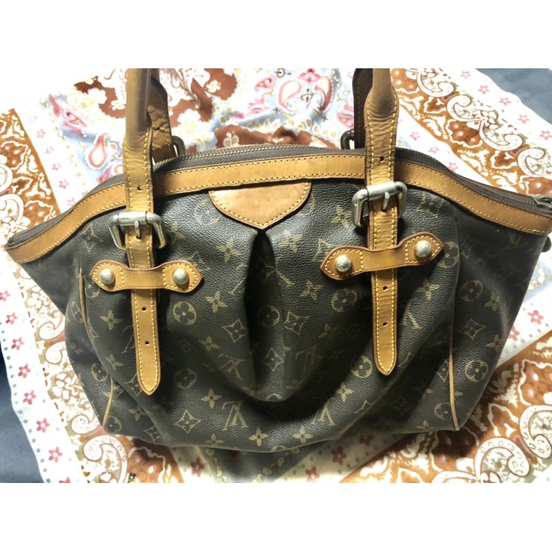 กระเป๋ามือสอง#กระเป๋าหนังแท้หลุยส์ไม่แท้