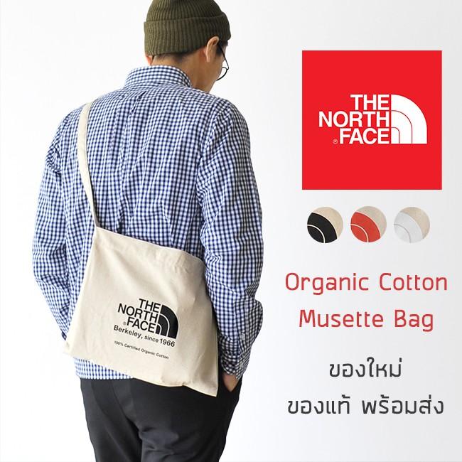 กระเป๋าผ้าสะพายข้าง The North Face - Organic Cotton Musette Bag รุ่นพิเศษจากญี่ปุ่น ของใหม่ ของแท้ พร้อมส่ง