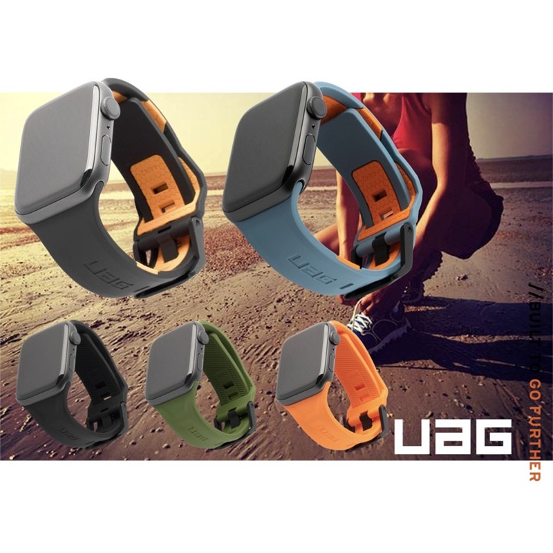 UAG Silicone Strap Apple Watch For Apple Watch 38 / 40mm 42 / 44mm Silicone Apple Sport Watch Set S6/SE/ 1/2/3/4/5 Strap