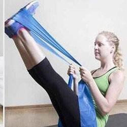 ยางยืดออกกำลังกาย Alitech  Flexband, Resistance Yoga Band ผ้ายืดออกกำลังกาย ยางยืดแรงต้าน  ยางยืดออกกำลังกายแรงต้านสูง