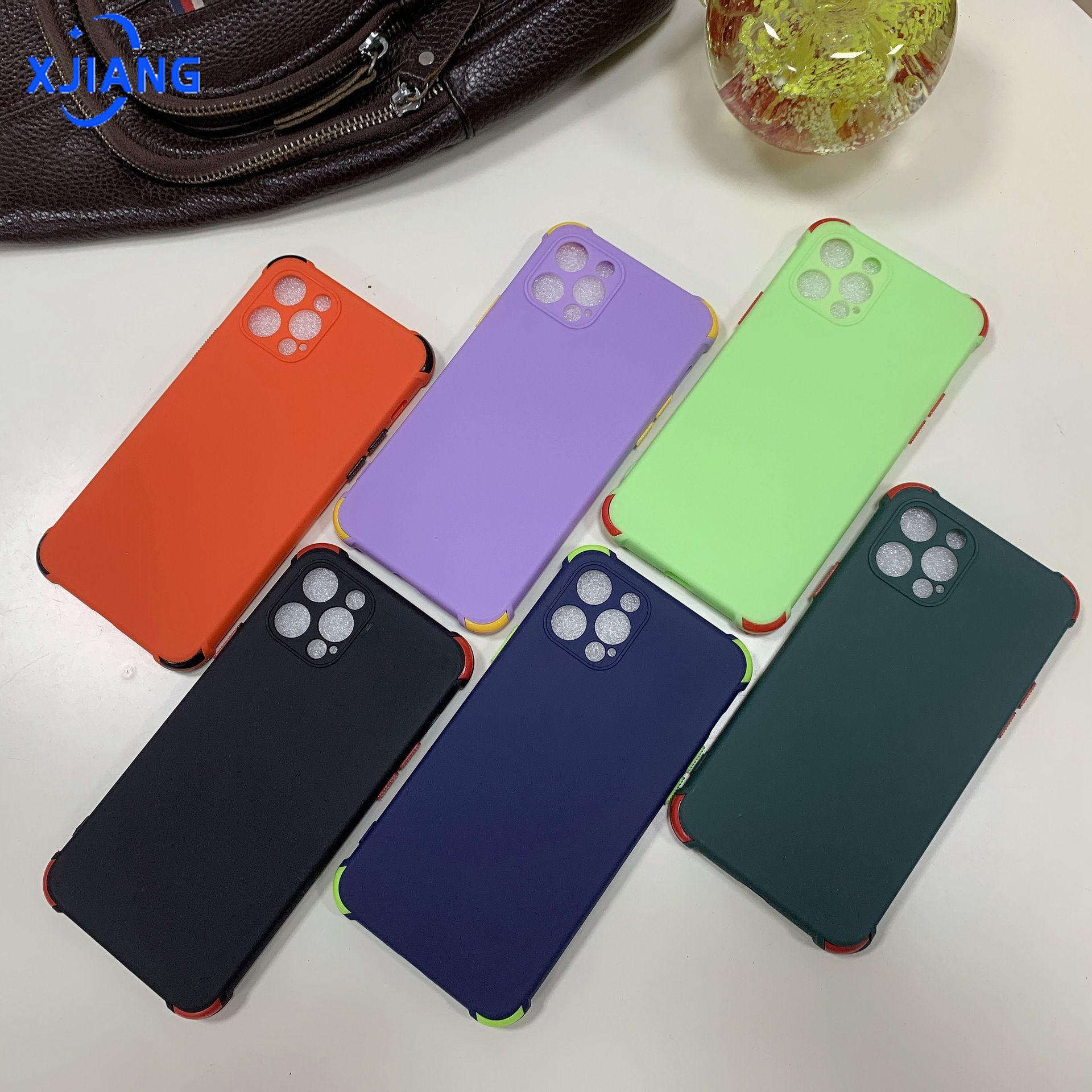 เคสโทรศัพท์มือถือป้องกันการตกหล่นสีลูกกวาด Tpu soft case เหมาะสำหรับ Tecno Spark 6 go Spark 4 Lite