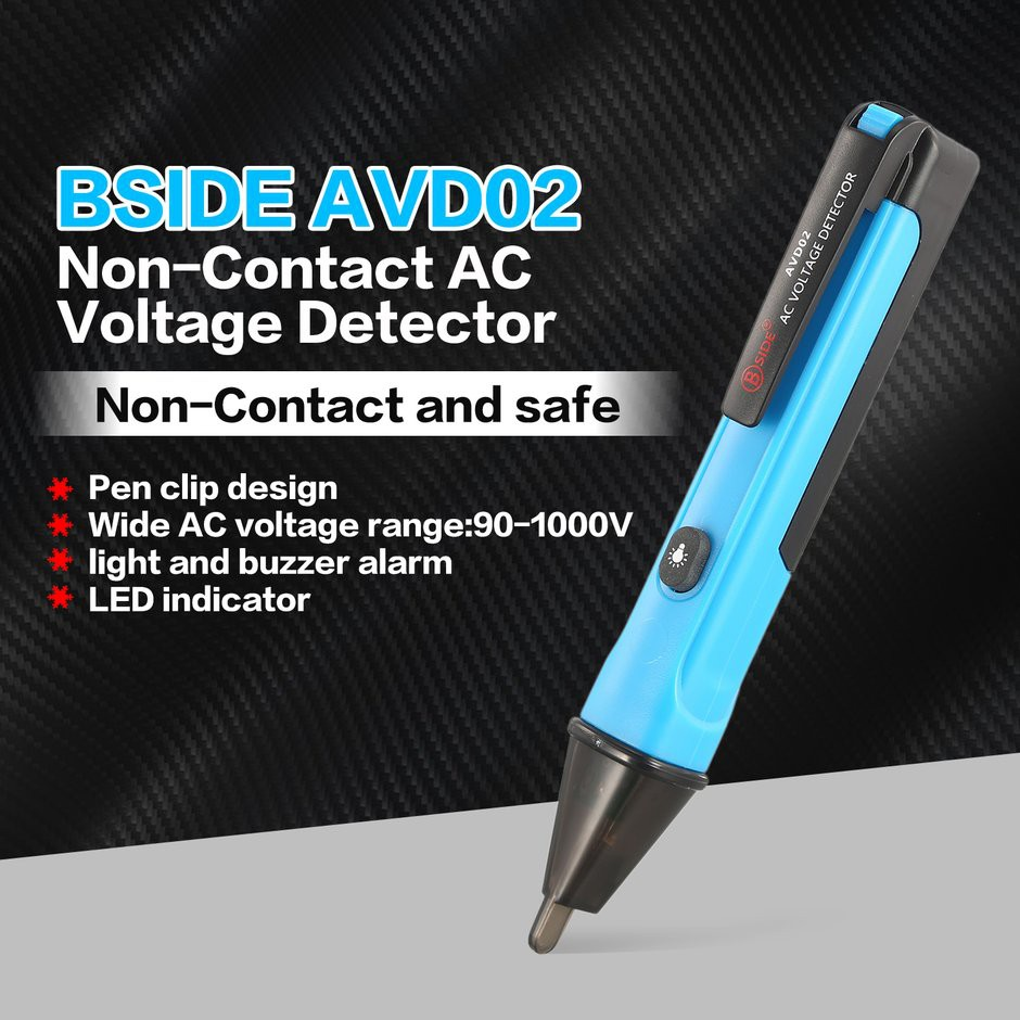 Mini Lcd Digital Non Contacted Ac Voltage Detector Tester Pen Meter Details About 90v To 1000v Electrical Live Circuit Probe Shopee Thailand