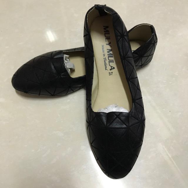 รองเท้าคัชชู สีดำ เบอร์37