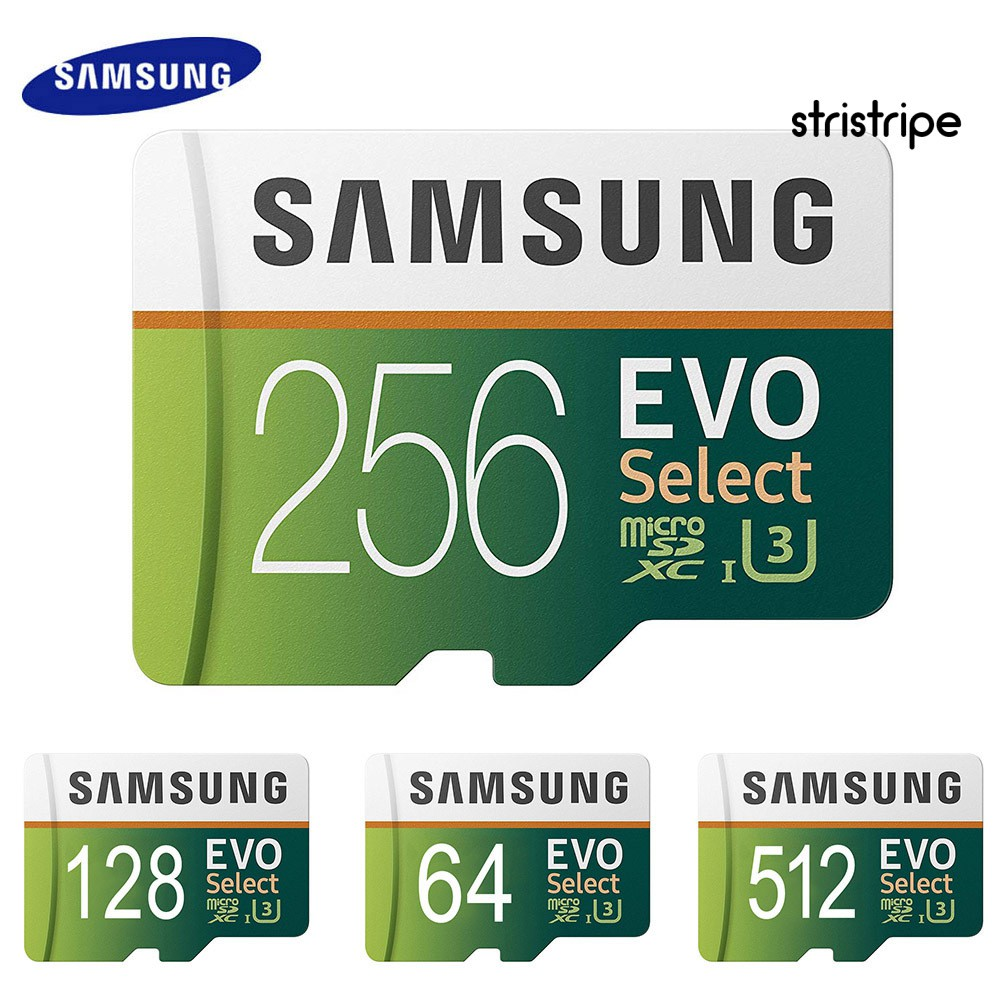 Str Samsung Evo 64 G / 128 G / 256 G / 512 G / 1 T Tf การ์ดหน่วยความจําสําหรับแท็บเล็ตโทรศัพท์กล้อง