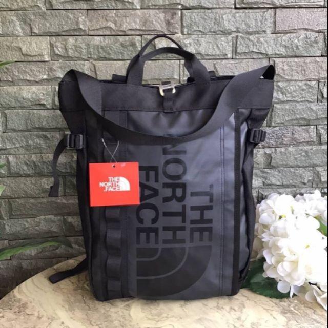 แท้💯🍒กระเป๋าเป้🍒THE NORTH FACE 3 WAYS Base Camp Backpack Totebag Shoulder Bag