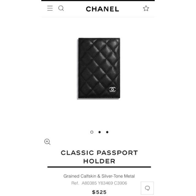 d762732fb3d0 CHANEL CLASSIC PASSPORT HOLDER GRAINED CALFSKIN ORIGINAL กระเป๋าใส่พาสปอร์ต  ชาแนล หนังแท้💯%   Shopee Thailand