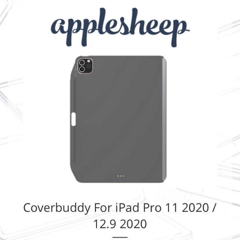 "Coverbuddy For iPad Pro 11"" 2020 by Applesheep ของแท้ 100%"