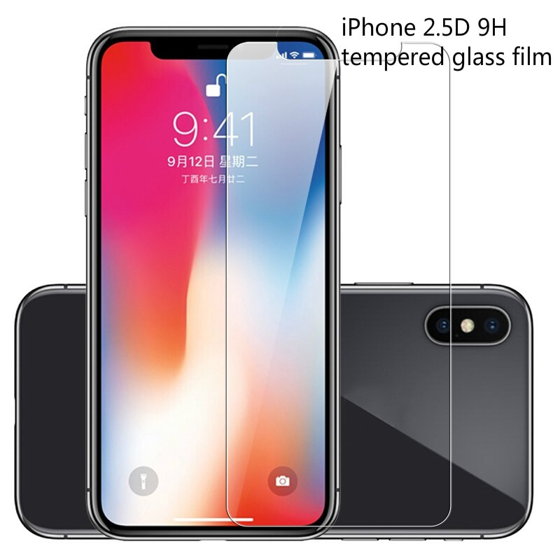 ฟิล์มกระจก 2.5D Apple 9.2H Iphone 12 11 Pro Max 12 pro max 12 mini 12 pro SE2 xs max xr ix i8 i7 i6 6s plus i5 5s