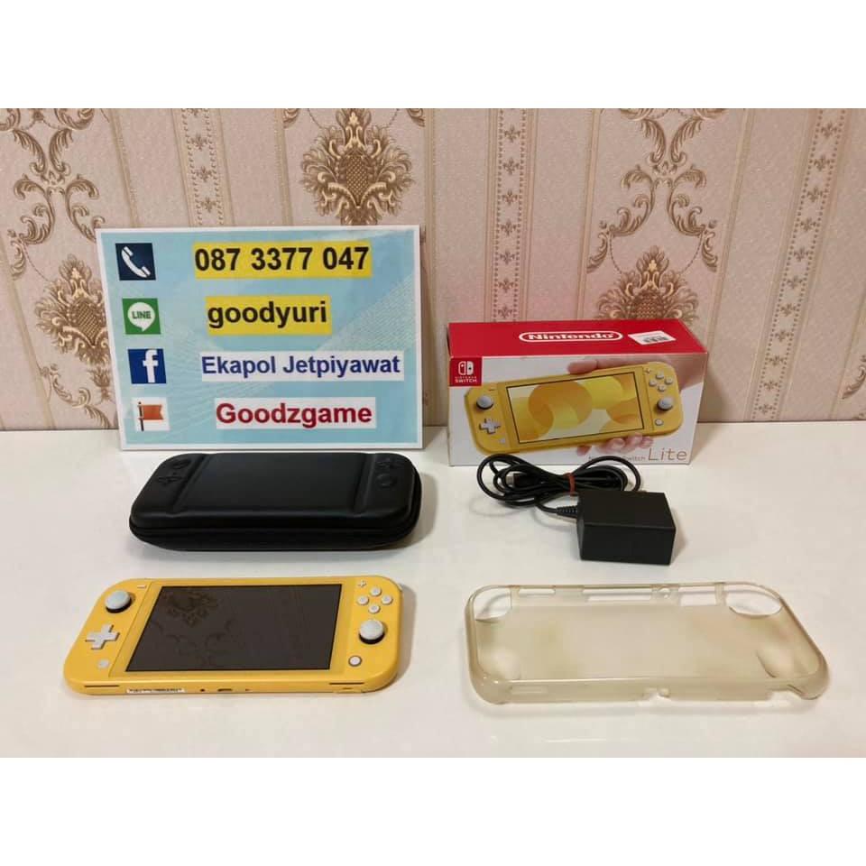 [มือสอง] Nintendo Switch Lite สภาพดี มีของแถม ราคาถูก