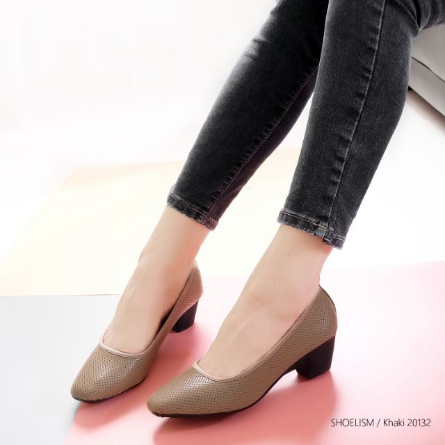 🌹 พร้อมส่ง รหัส 20132 #รองเท้าคัชชูเพื่อสุขภาพ