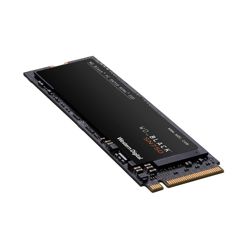 WD HARDDISK SSD BLACK SN750 500GB M 2 PCIE GEN3 READ3470WRITE3470 5Y