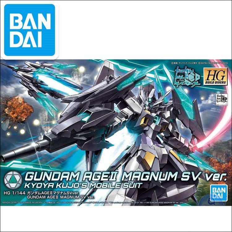 Original Jaaness Gundam Model HG 1/144 AGE II MAGNUM SV Ver. GUNDAM  Mobile Suit Kids Toys