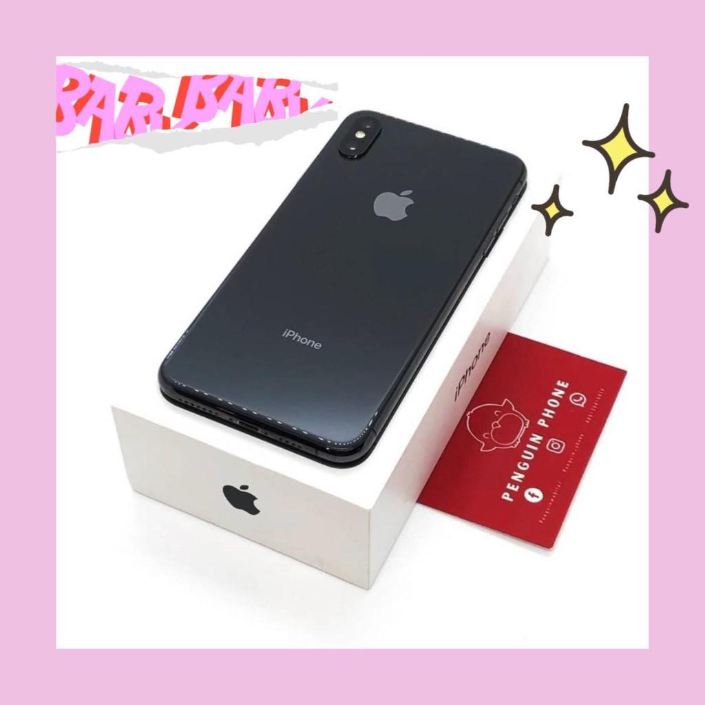 iPhone Xs Max 64GB สี Space Gray มือสอง สภาพ 99.99% [ไอโฟนมือสอง iPhoneมือสอง ไอโฟนมือ2 ไอโฟนราคาถูก]