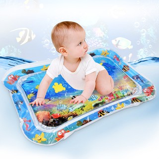 กระเป๋าเก็บความเย็น New Creative Baby Play Mat toys Inflatable Cartoon Animal Water playmat newborn infant to