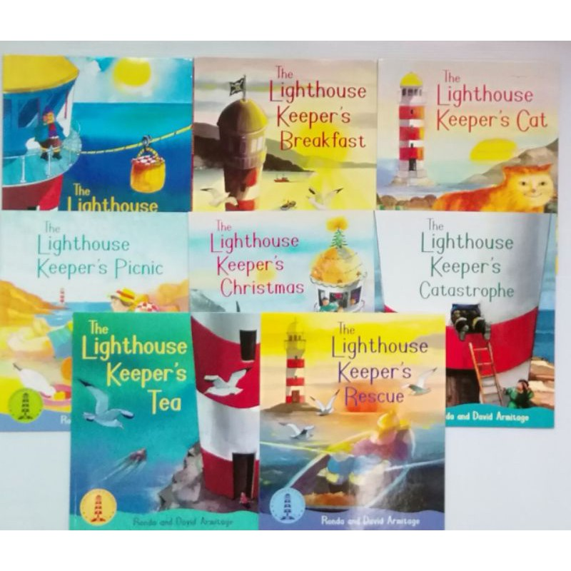 The Lighthouse keeper's picture books