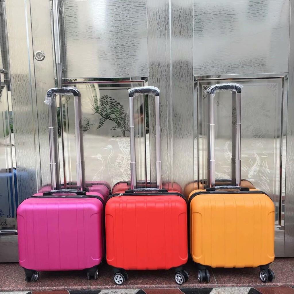 №กระเป๋าเดินทางล้อลากสำหรับเด็กแฟชั่นกระเป๋าเดินทาง 14 นิ้วกระเป๋าเดินทางหญิง 16 นิ้วกระเป๋าเดินทางขนาดเล็ก 18 นิ้วล้อ