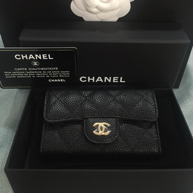 New chanel card holder holo27