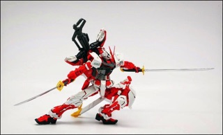 Image # 3 of Review MG  MBF-P02KAI Gundam Astray Red Frame kai