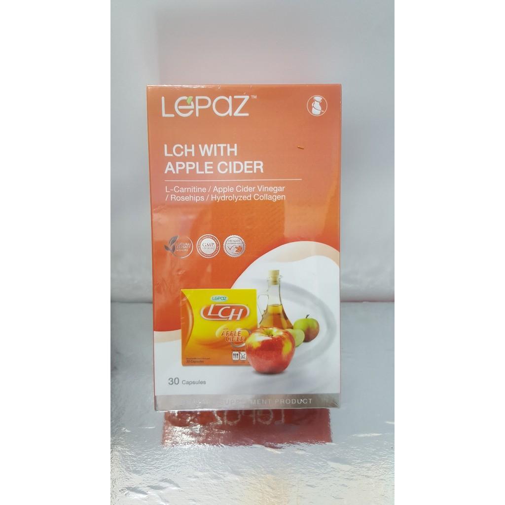LEPAZ LCH With Apple Cider 30 แคปซูล