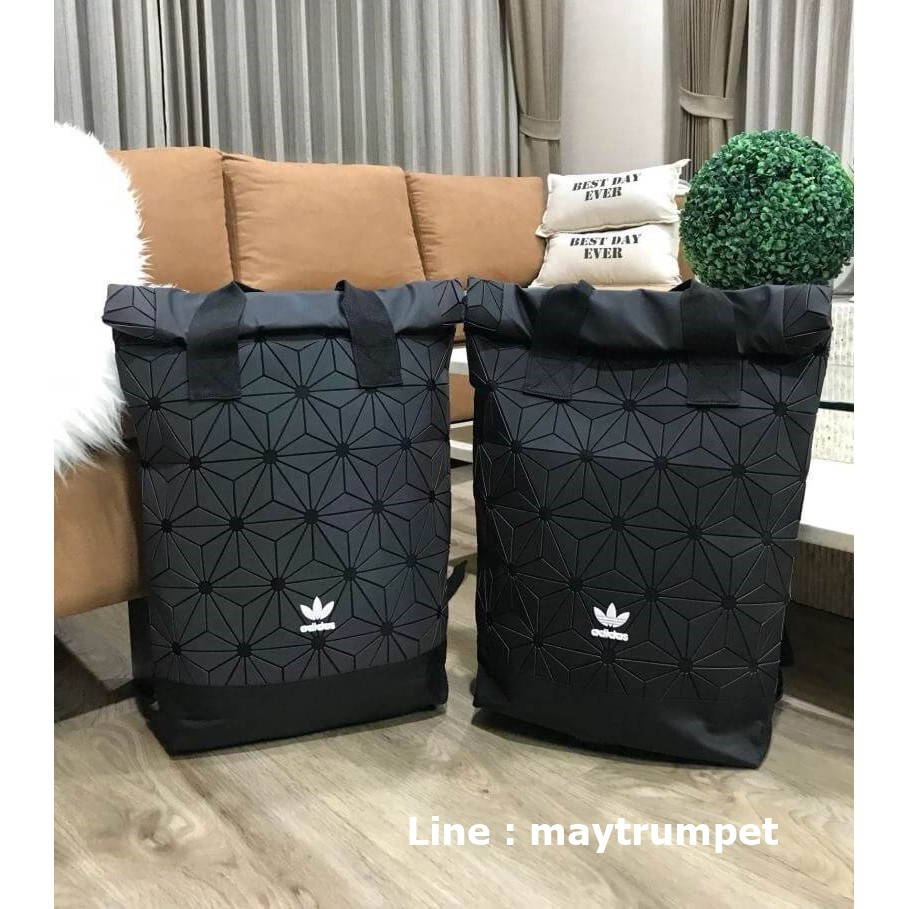 Don't Miss! Adidas 3D Roll Top Backpack Y2018 (หูคู่)