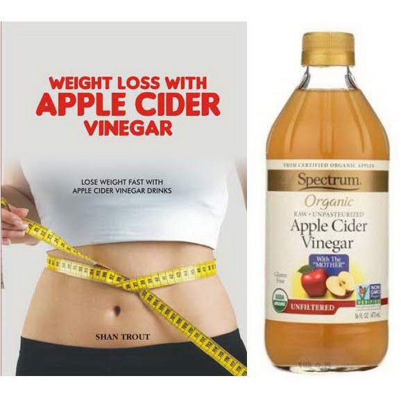 Spectrum น้ำส้มสายชูออร์แกนิคหมักแอปเปิ้ล สเปกตรัม 473 มล. Apple Cider Vinegar Organic แอปเปิ้ลไซเดอร์เวนิกา ACV